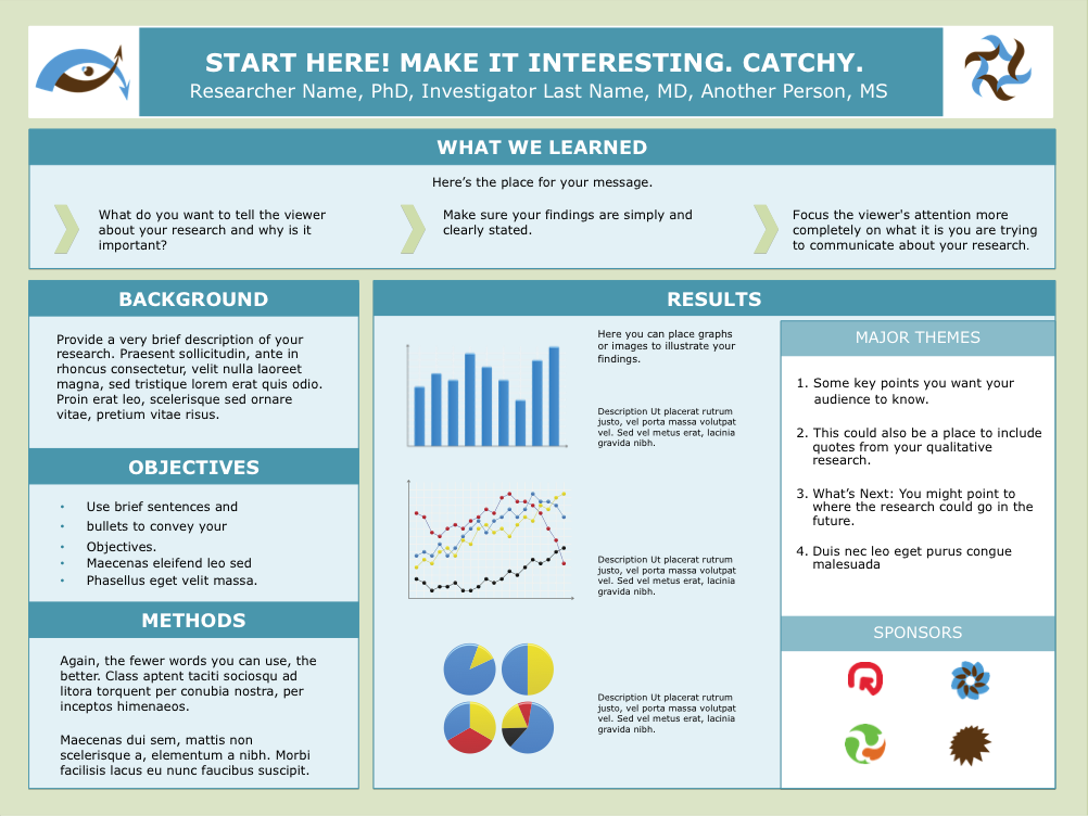 Academic Poster Template Powerpoint